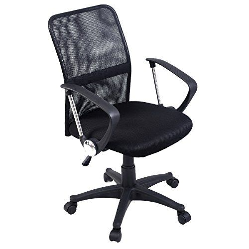 giantex modern ergonomic mesh midback executive computer desk task office chair check out the image