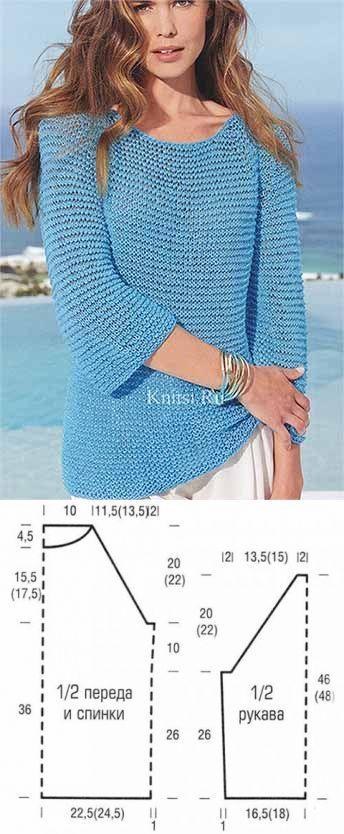 Пуловер реглан | Искусница