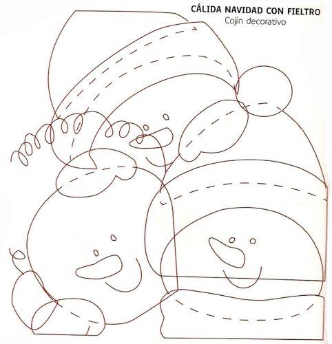 moldes navideños - Nocturnar