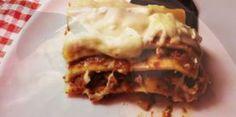 Recette : les lasagnes à la bolognaise et fromage blanc