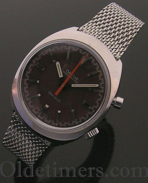1960s steel vintage Omega 'Chronostop' watch (3731)