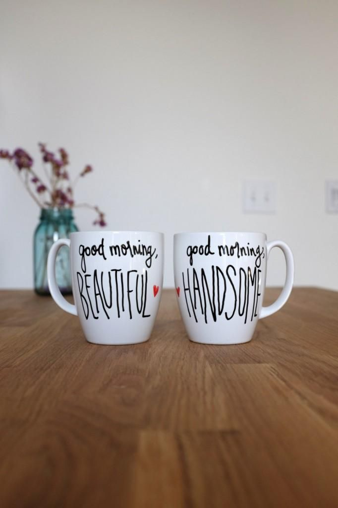 Cute couple mugs. #adoredecor #hisandhers