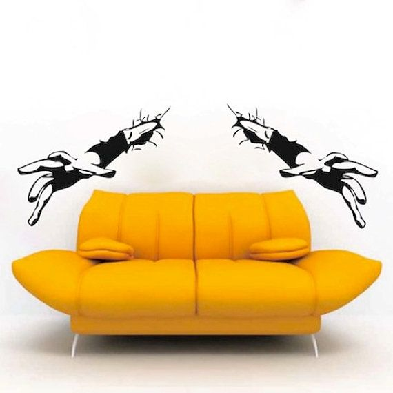 95 best Holiday Wall Decals images on Pinterest | Wall design, Wall ...