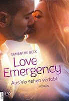 Love in Emergencies von Samanthe Beck  Contemporary Romance aus dem Lyx Verlag   BeatesLovelyBooks: [Buchserie] Love in Emergencies Buchreihe von Sama...