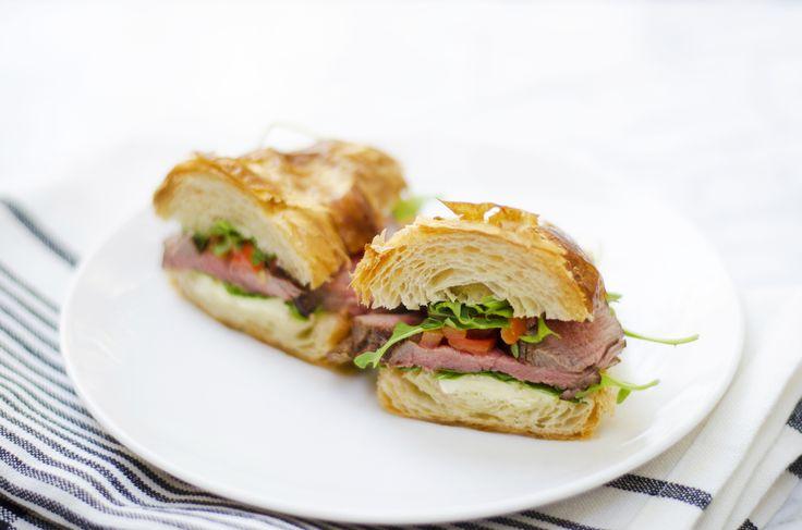 Giada's Parisian Steak and Cheese Croissant Sandwiches | Giada De Laurentiis