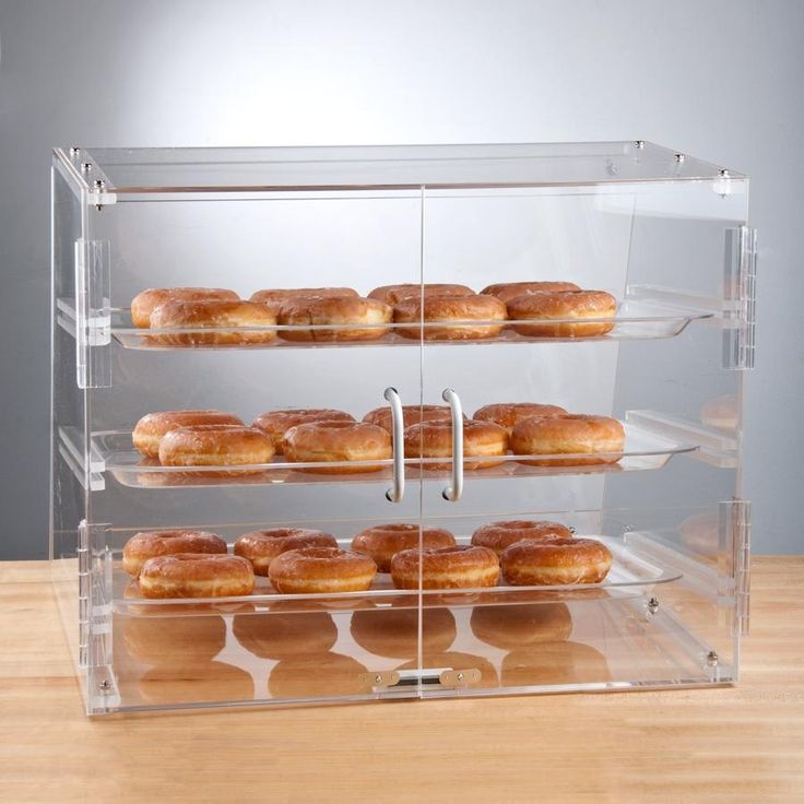 how to make a bakery display case