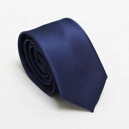 fashion solid men slim ties fashion neckties