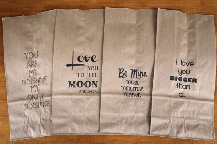 how to print on brown paper bags: perfect for school lunches, parties, paper bag book reports, and literacy games