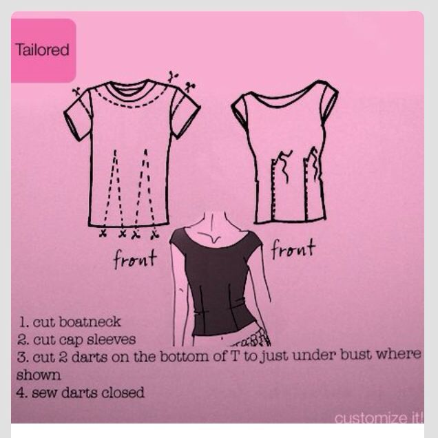 tshirt refashion                                                                                                                                                                                 Plus