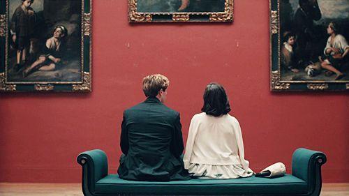 Couple art #couple #romance #red
