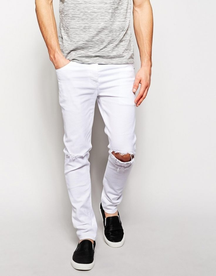 17  best ideas about White Jeans For Men on Pinterest | White ...
