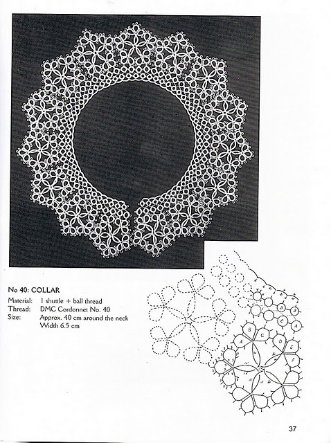 Loads of tatting patterns (old) click on picture. And then click on albums and there is more
