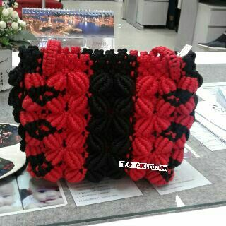 #red #handmade #bags