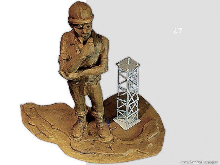 Y el Petróleo Apá? Escultores México, Esculturas, Escultura Mexicana, Juan Carlos Canfield Zapata, Escultor