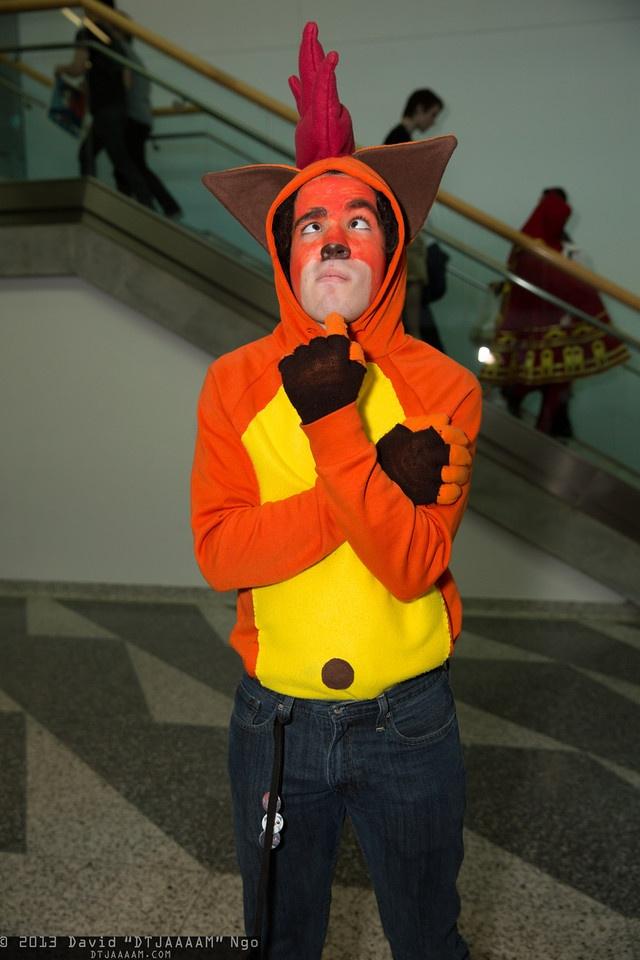 Crash Bandicoot FanimeCon 2013 Is My Geek Showing