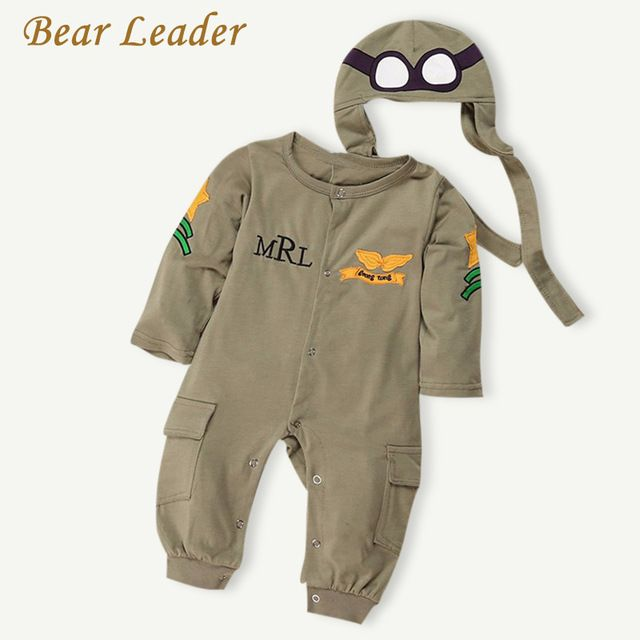 Check lastest price Bear Leader NEW Baby Rompers Fashion Autumn Boys Clothing Sets Long Sleeve Baby Jumpsuit+Hat 2pcs Newborn Clothes For Boy Winter just only $9.56 with free shipping worldwide  #babyboysclothing Plese click on picture to see our special price for you