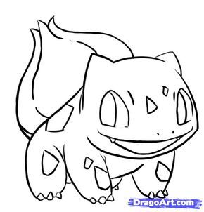 easy bulbasaur | how to draw bulbasaur from pokemon step 8