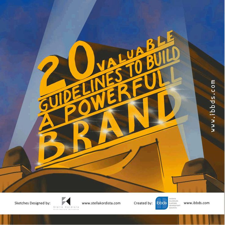 #20 #Valuable #Guidelines #to #Build #a #Powerful #Brand