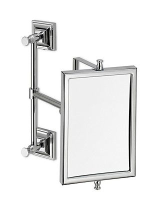 Elegant No Bathroom Is Complete Without A Mirror And This Extendable Wall Mounted  Mirror Makes For A Practical Choice.