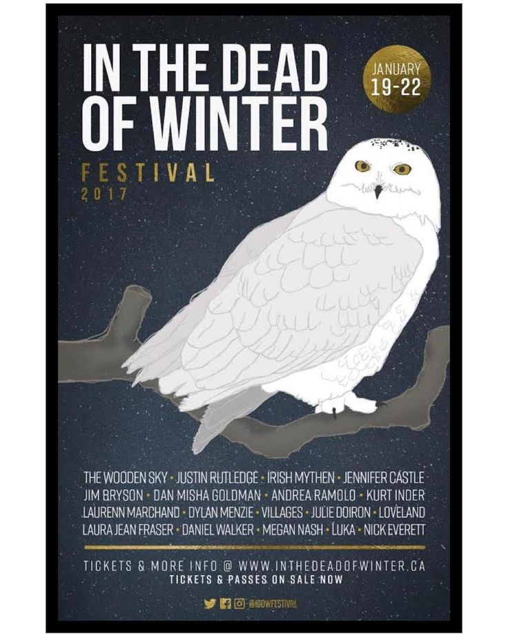 @idowfestival In the Dead of Winter Festival Reveals 2017 Lineup from @exclaimdotca  Winter in Halifax can be a scary thought but In the Dead of Winter Festival is just heating up and giving East Coast music fans something to look forward to for the 12th year in a row. . Organizers have rolled out the initial lineup for the 2017 edition of the festival which will run from January 19 to 22 between @timberloungehfx the @theseahorsetavernhfx and @goodrobotbrew . So far the Wooden Sky Justin…