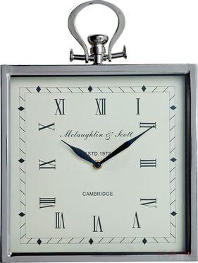 Wall Clock Cambridge Square 38x28cm