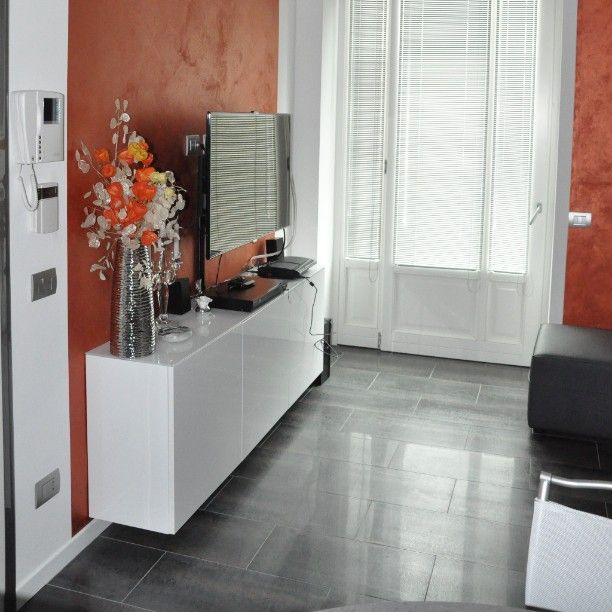 Oltre 1000 idee su mobili corridoio su pinterest colori for Ingresso casa moderno