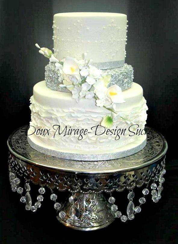 ...  Haute couture nuptiale, Gâteaux de mariage et Mariage bling bling