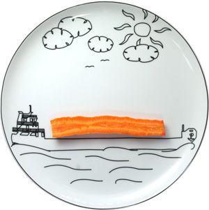Boguslaw Sliwinski . . . Ceramics Plate BS Transportation