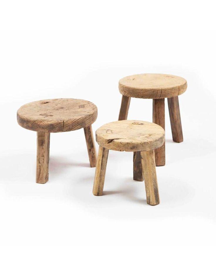 Small Wooden Stool Stools, Small Round Stools