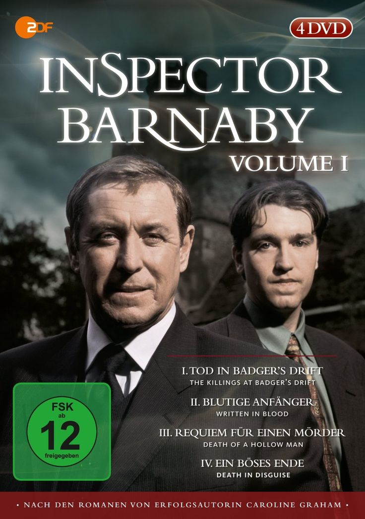 Inspector Barnaby, Vol. 01 [4 DVDs]: Amazon.de: Laura Howard, Jane Wymark, Emily Mortimer, David Troughton, Bernhard Hepton, Colin Farell, Judy Cornwell, Michael Feast, John Nettles, Daniel Casey: DVD & Blu-ray
