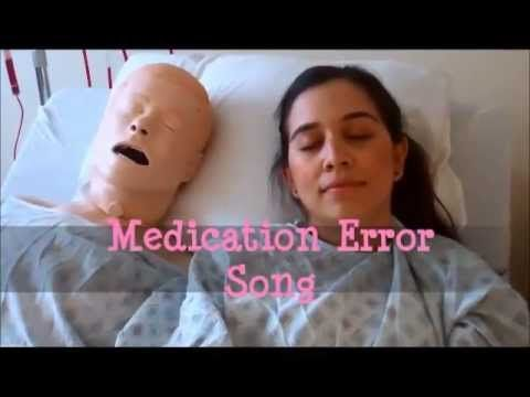 Funny song about preventing medication errors! Watch it, you'll smile!