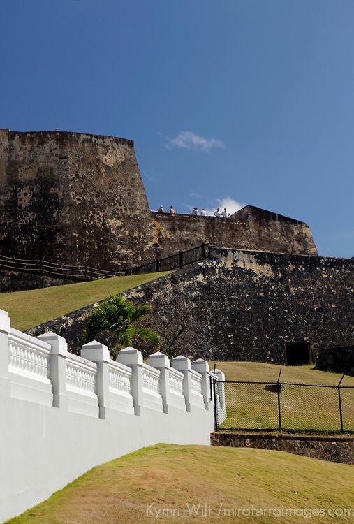 USA, Puerto Rico, San Juan. Castillo de San Cristobal,