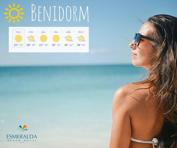 Ya no hay excusas! Toca disfrutar del buen tiempo! ☀ Nice weather!    ➡ http://www.hotel-esmeralda.es  #Benidorm