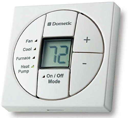 Duotherm Single Zone Thermostat – Use W/Heat Kit – White – 3313189.049 by Dometic Dealer Direct