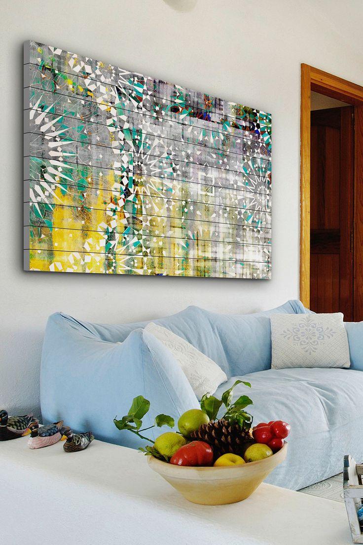 Agadir White Wood Wall Art on @HauteLook