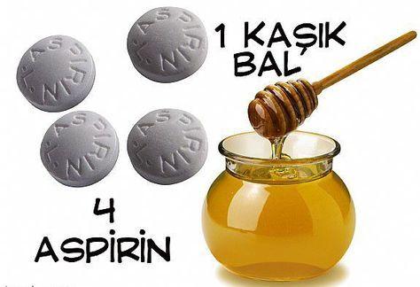 Mucize Maskeyle Sivilcelere Ölüm! (Aspirin ve Bal Maskesi) | Bitkilog