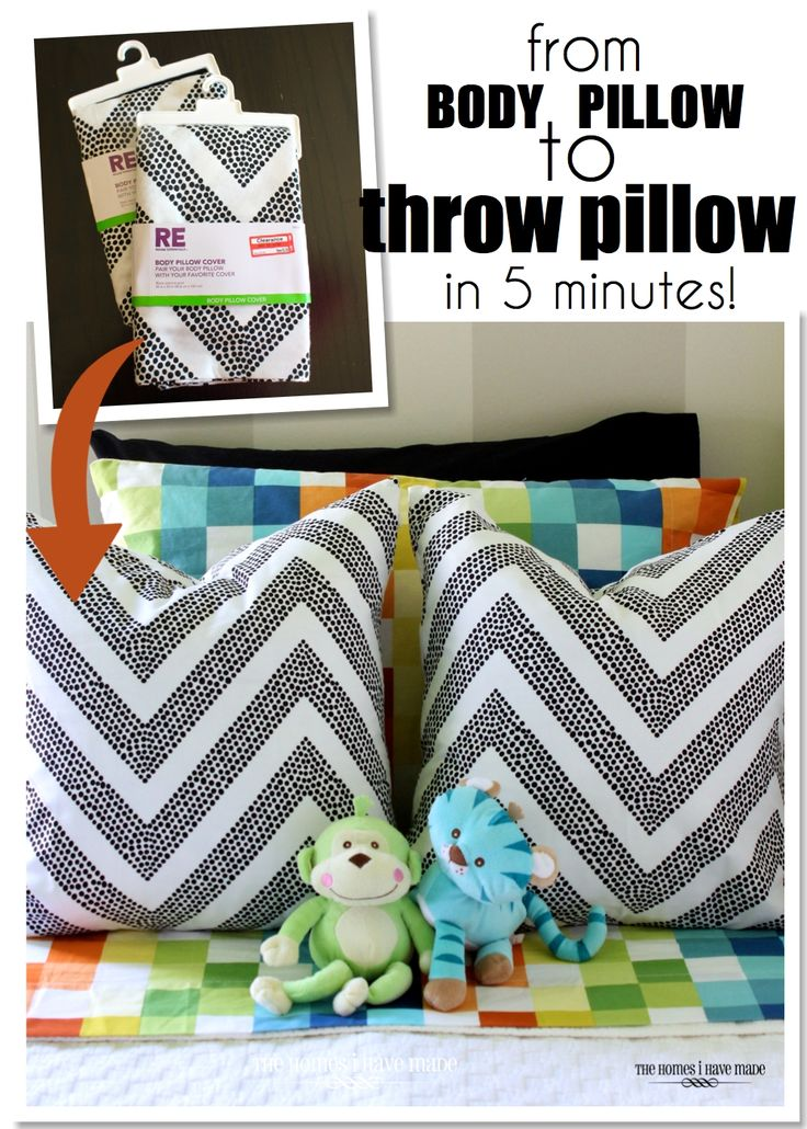 The Quickest Easiest and Cheapest Throw Pillows You\u0027ll Ever Make