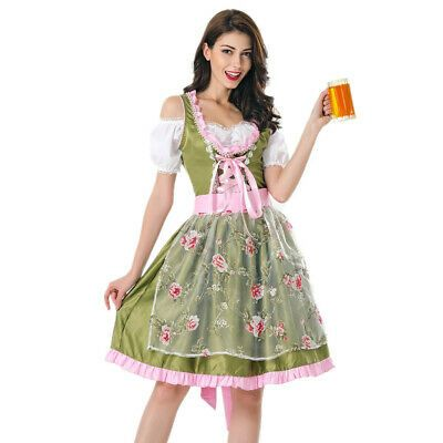 (Sponsored) eBay – Damen Oktoberfest Beer Maid Kostüm Bayerisch Deutsch Dirdnl Le … – Women. Costumes, Reenactment, Theater