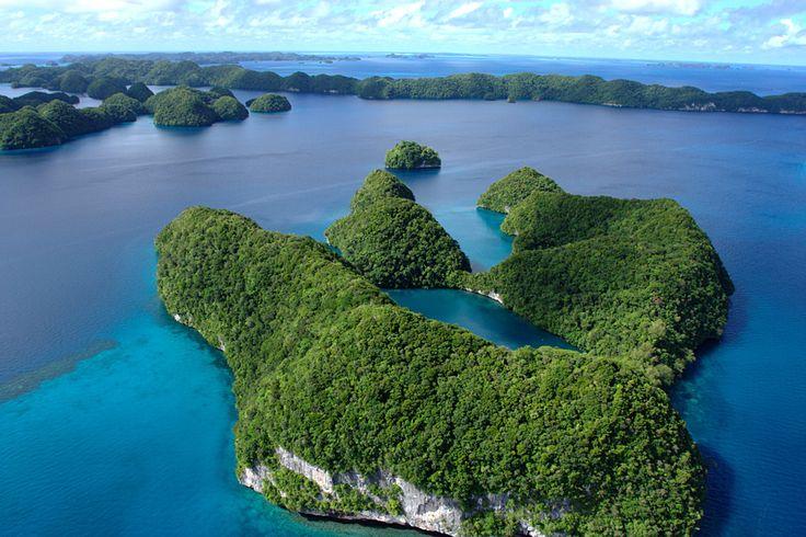 Die Länder mit den wenigsten Touristen: Palau, Osttimor, St. Vincent und die Grenadinen, Anguilla, Kiribati