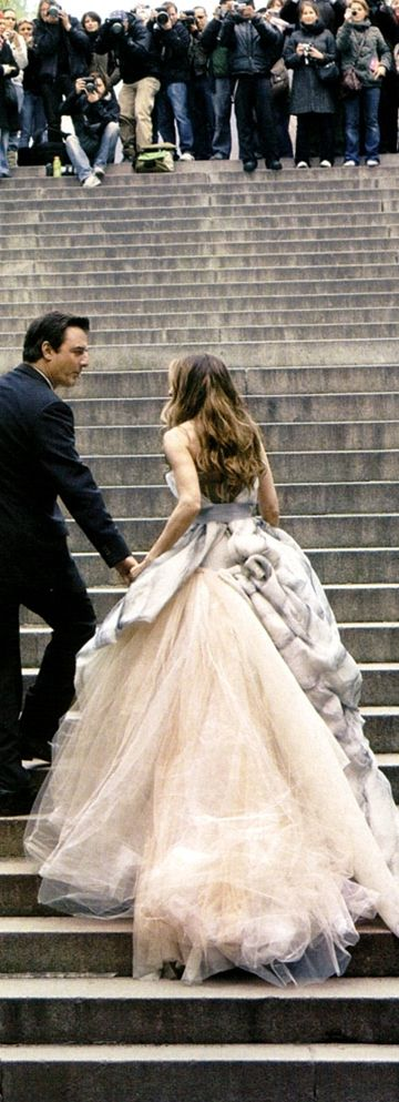Sarah Jessica Parker and Chris North; Vogue US July 2008 by Annie Leibovitz