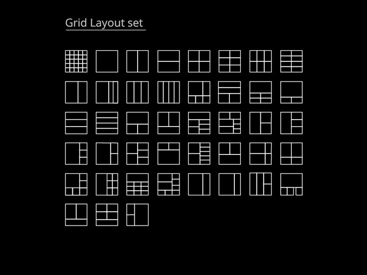 43 Layouts (Grids) templates =]