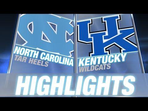 North Carolina vs Kentucky | 2014-15 ACC Men's Basketball Highlights