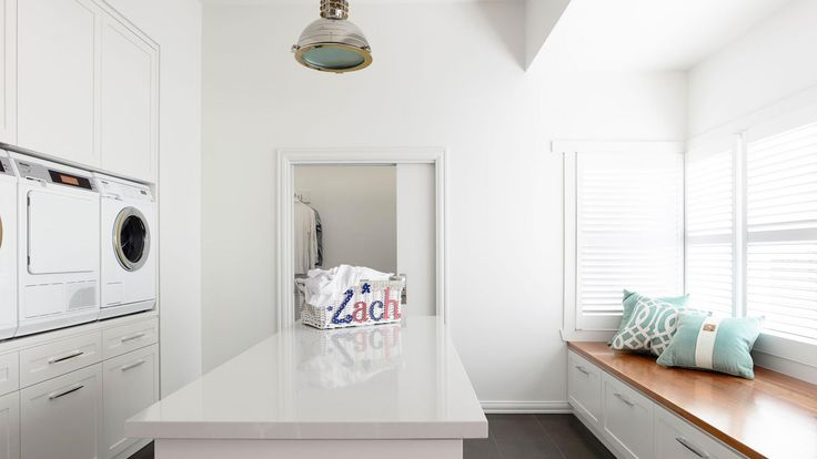 So much space in this laundry by Canny Design.