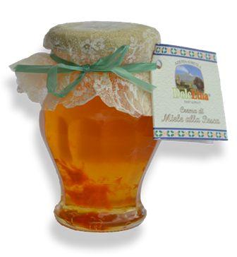 Crema di miele alla pesca