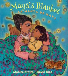 Little Maya has a special blanket that Grandma stitched with her own two hands. As Maya grows, her blanket becomes worn and frayed, so with Grandma's help, Maya makes it into a dress. Over time the dress is made into a skirt, a shawl, a scarf, a hair ribbon, and finally, a bookmark. Each item has its own special, magical, meaning for Maya.