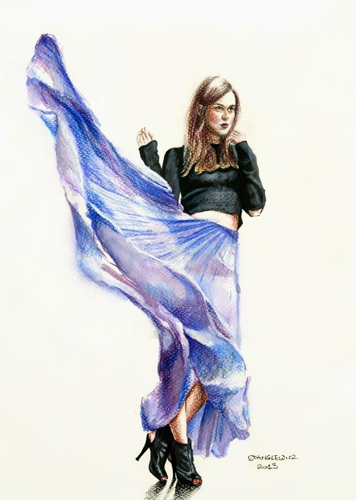 #aleksandrastanglewicz #fashionillustration #illustration #art #blogger #stylescrapbook
