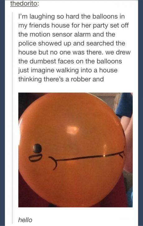 Yes, TIS I, BALLOON FACE: | funny stuff | Funny, Tumblr ...