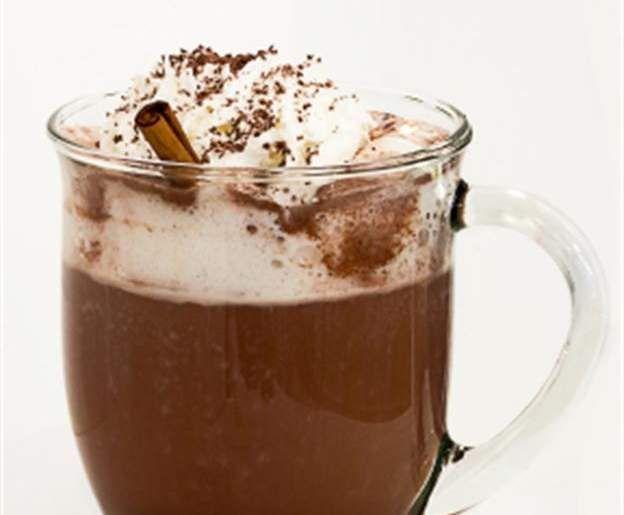 Recept Horká čokoláda se šlehačkou od Marťa123 - Recept z kategorie Nápoje