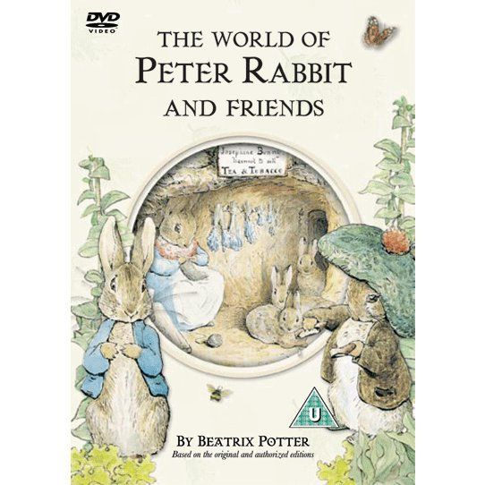 Peter Rabbit - The World of Peter Rabbit and Friends. Product code: BBCDVD2230