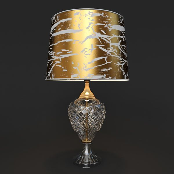 Table Lamp Belle Epoque 3011 Lamp Table Lamp 3d Lamp